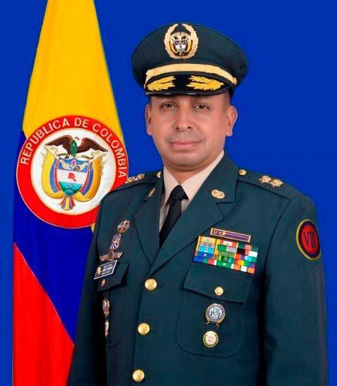 Brigadier general Jairo Alejandro Fuentes. Nuevo comandante DIV 8