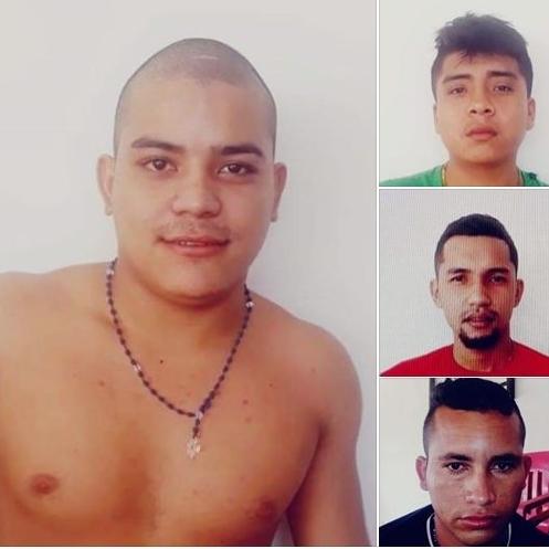Estos son los cuatros delincuentes que se volaron de la estación de policía de satravena