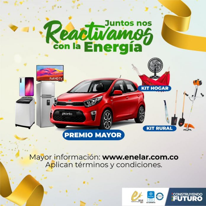 En Tame, Arauquita y Puerto Rondón se quedaron los 6 premios que sorteó el programa Juntos Nos Reactivamos con la Energía el viernes 11 de junio. - Noticias de Colombia