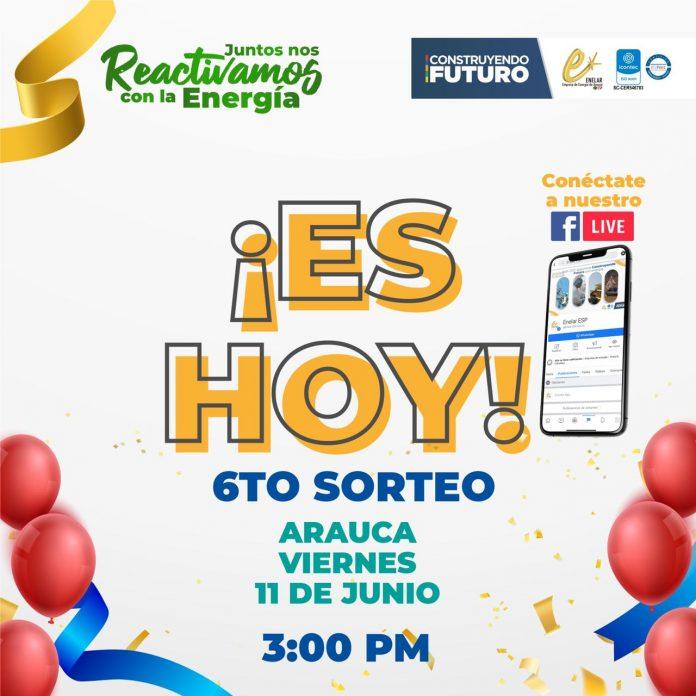 ¡Es hoy! Los 6 sorteos del programa Juntos Nos Reactivamos con la Energía. Una nevera, una lavadora, un televisor, un celular, un kit hogar y un kit rural se sortearán entre los 44.051 usuarios que pagaron oportunamente en mayo la factura de energía. - Noticias de Colombia