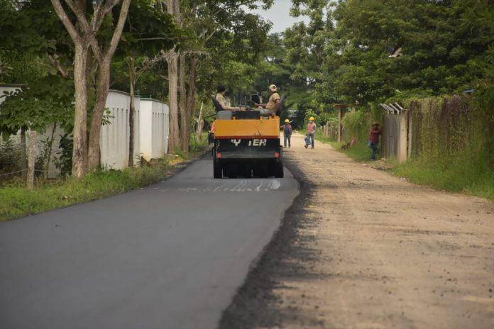 En su fase final pavimentación en el sector de Gabanes. - Noticias de Colombia